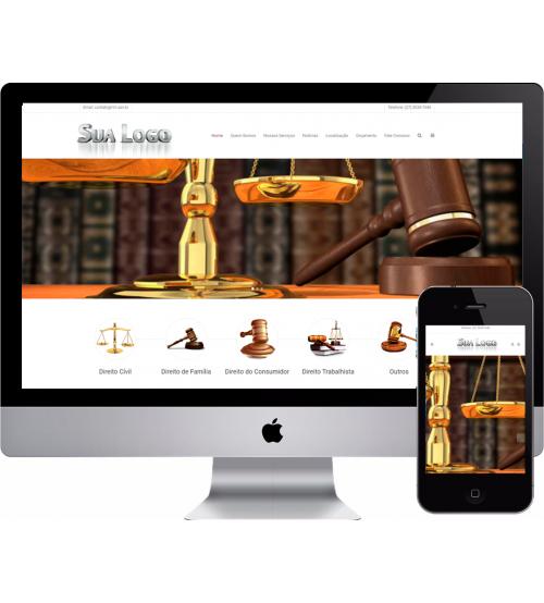 Criação de site Advocacia