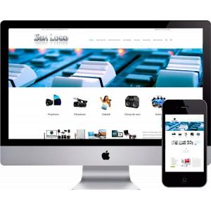 Criação de Site Áudio e Vídeo