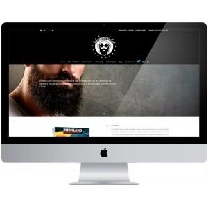 Criação de site Barbearia Cabeleireiro