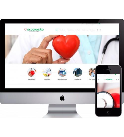 Criação de site Médico Cardiologista