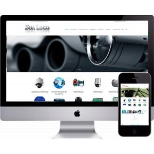 Criação de site CFTV Segurança Eletrônica