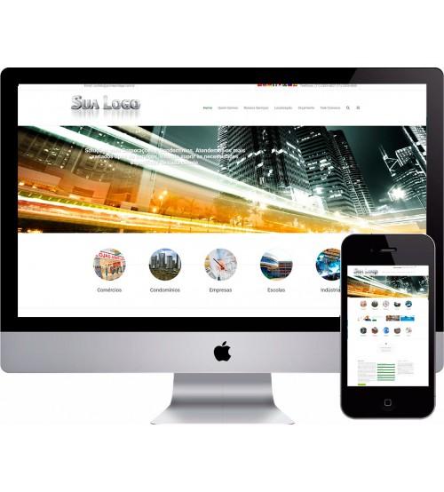 Criação de site Administração de Condomínios