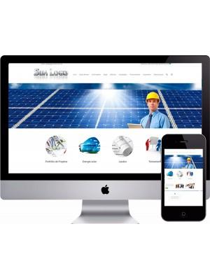 Criação de Site Engenharia Solar