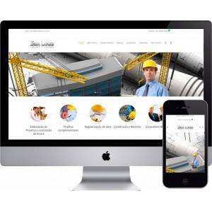 Criação de Site Engenharia Civil