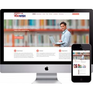 Criação de Site E-learning Escolas Cursos