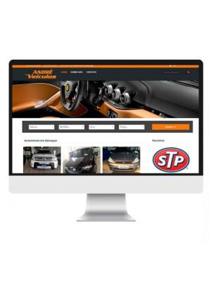 Criação de Site Loja de Veículos