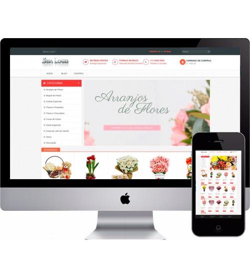 Loja Virtual de Flores