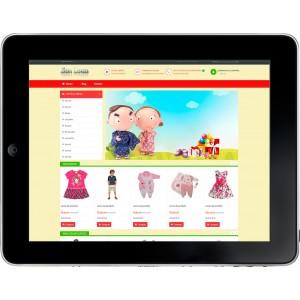 Loja Virtual Infantil Bebê
