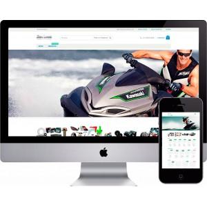 Loja Virtual Peças de JetSky e  Náutica Woocommerce