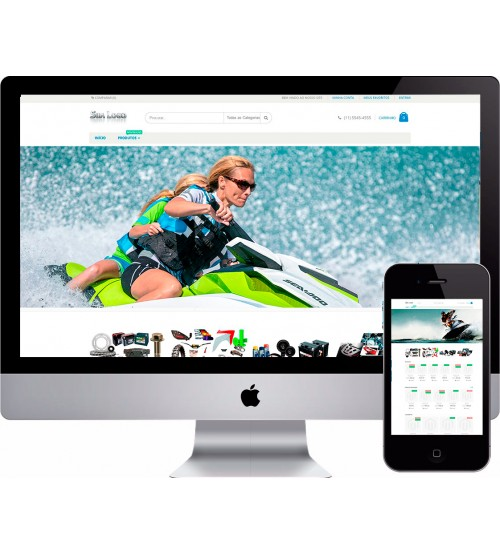 Loja Virtual Peças de JetSky e  Náutica Magento
