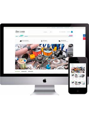 Criação De Loja Virtual De Auto Peças OPenCart