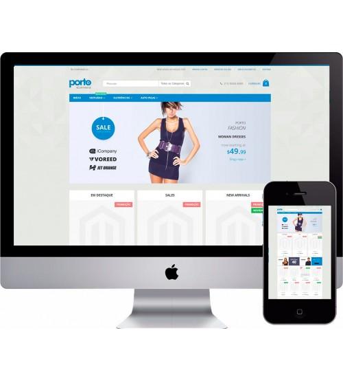 Loja Virtual Roupas Fitness Magento