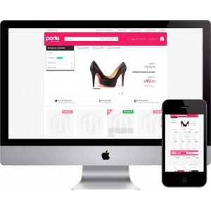 Loja Virtual Sapatos e Calçados Magento