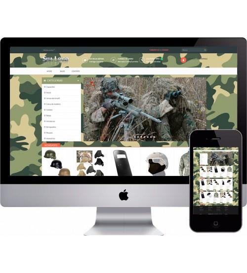 Loja Virtual Militar Exército