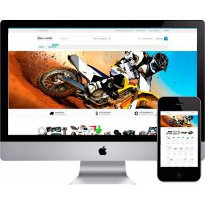 Loja Virtual Moto Peças Magento