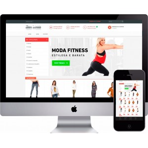 Loja Virtual Roupas e Moda Fitness