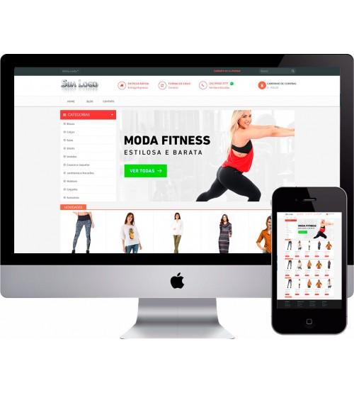 0aa77c30d Loja Virtual Roupas e Moda Fitness