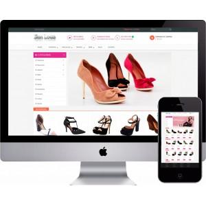 Loja Virtual de Sapatos