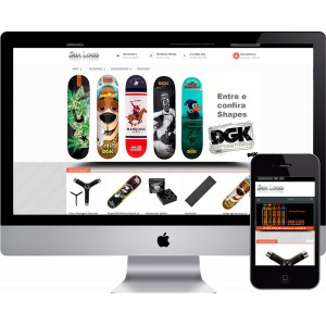 Loja Virtual Skate Shop