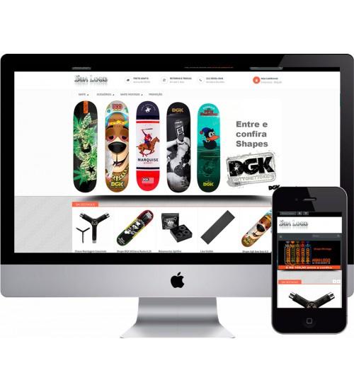 Loja Virtual Skate Shop
