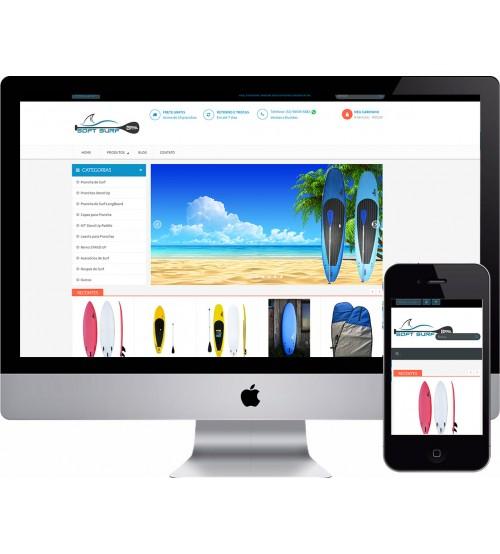 Loja Virtual Surf Shop