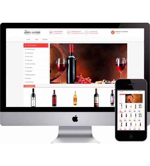 Loja Virtual de Vinhos e Bebidas