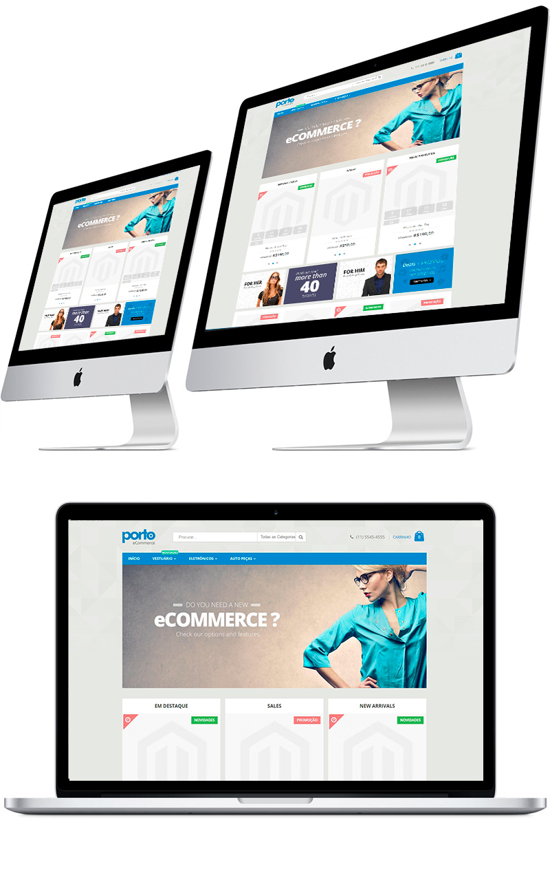 b78a8bdff Magento é uma plataforma de comércio eletrônico opensource que fornece  mecanismos totalmente flexíveis para o controle e gerenciamento de uma loja  virtual.